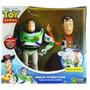 Buzz Lightyear Y Woody Juntos Amigos Interactivos Toy Story