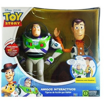 Buzz Lightyear Y Woody Juntos Amigos Interactivos Toy Story