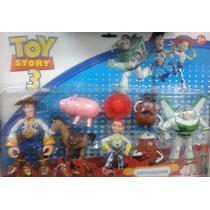 Muñecos De Toy Story Blister De 7 Personajes