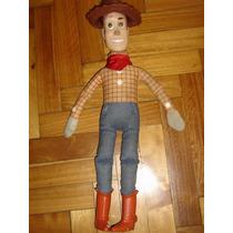 Woody Gran Muñeco De Toy Story ,tela Y Goma 42 Cm De Altura!