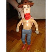 Gran Muñeco De Toy Story. Woody, De Tela. 42 Cm De Altura