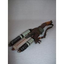 Predator Arma De Nolan Accesorio Hot Toys En Blister