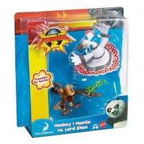 Kung Fu Panda 2 Monkey Mantis Vs Lord Shen Mattel Dreamworks