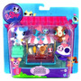 Littlest Pet Shop Rolleroos Pets Play Set Ice Cream Frenzy
