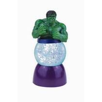 Mini Snowglobe Hulk Marvel Con Luces