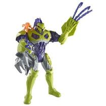 Max Steel Toxzon Bomba Biologica, Con Lanzador, Imperdible