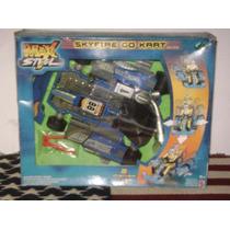 Max Steel - Sky Fire Go Kart - Año 2001 - Coleccion