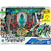Transformers Prime Cyberverse Star Hammer With Wheeljack