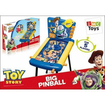 Big Pinball Grand Flipper Toy Story Con Patas 5 Jugadores