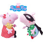 Peppa Pig En Peluches 40cm!!! Super Grandes Imperdibles!!!