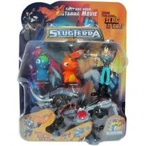 Bajoterra Pack X 4 / 2 Babosas +personaje +dino Transformer