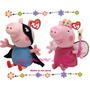 Peppa Pig En Peluches 40cm!!! Super Grandes Imperdibles!!!
