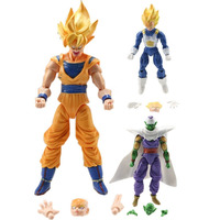 Dragon Ball Z. Goku. Vegeta. Piccolo. Set X 3 Muñecos +envio