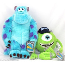 Monsters Univerity Mike Wazowski Sully Original Disney Store