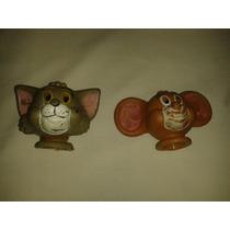 Tom Y Jerry Viejas Cabezas De Titeres