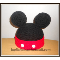 Gorros Tejidos Mickey / Minnie / Kitty / Henry