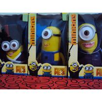 Minions Despicable Me 3 Muñecos Coleccionables Con Sonido!!!