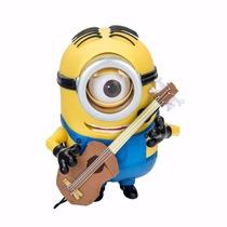 Muñeco Minion Stuart Con Guitarra Interactivo - Mundo Manias