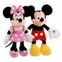 Pareja Minnie Mouse Rosa Y Mickey 125 Cm