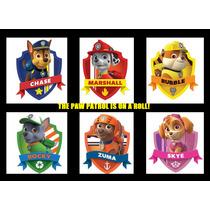 Paw Patrol Peluches Música Original Idem Tv Chase Zuma Rocky