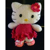 Kitty Amigurumi Tejida Crochet A Mano.