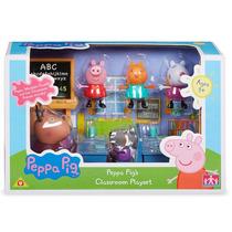 Set De Clase Classroom Peppa Pig Vamos Al Cole Punto Bebe