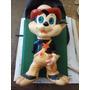 Antiguo Muñeco De Goma Rayito De Sol Walt Disney Gato 25 Cen
