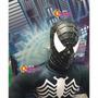 Spiderman Negro Muñeco Soft Tela 60cm Venom Cabeza Goma
