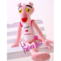 Muñeco - Peluche Grande La Pantera Rosa Pink 52 Cm De Largo