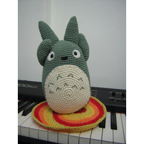 Totoro Muñeco Amigurumi - Tejido Crochet