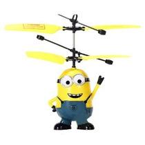 Minion Volador Helicoptero Sensor De Altura Facil De Usar !!