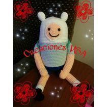 Finn Hora De Aventura!!! Tejido Amigurumi Crochet