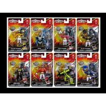 Muñecos 12cms Power Rangers Megaforce 8 Modelos Orig Bandai