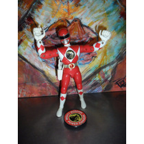 Mighty Morphin Power Rangers | Con Patada | Rojo | Bandai