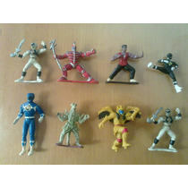 Lote Muñecos Power Rangers