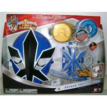 Power Rangers Super Samurai Set De Entrenamiento Azul