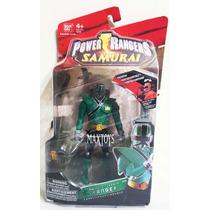 Power Rangers Samirai Green En Blister