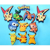 Pokemon Jibbitz & Pins Para Crocs. Importados Usa 4 X $150