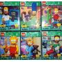 Los Simpsons Simil Lego !! X 6 Personajes Oferta !!!