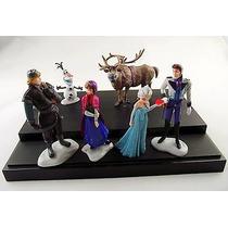Playset X 6 Figuras Personajes Frozen. Olaf