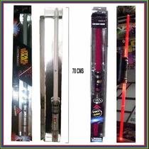 Espada Star Wars Sable Doble Darth Maul 3 Modelos Luzysonido