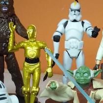 Star Wars X 8 Storm Trooper Yoda Arthu No Son Hasbro 5y10 Cm