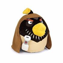 Obi-wan Kenobi Angry Birds Star Wars Peluche 13 Cm Y Sonido