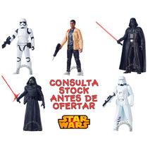 Muñecos Star Wars Darth Vader Kylo Storm Original Hasbro