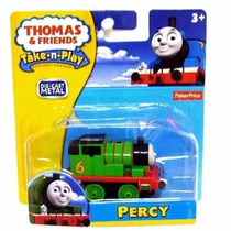 Tren Percy Metalico. Thomas&friends Fisher Price