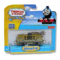 Tren Diesel 10 Metalico. Thomas&friends Fisher Price