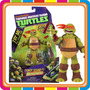 Muñecos Tortugas Ninja Con Sonido -15cm - Mundo Manias