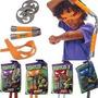 Set De Combate Armas De Las Tortugas Ninjas + Antifaz