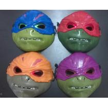 Mascaras De Las Tortugas Ninjas Con Luz - Super Oferta