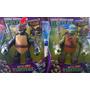 Muñecos De Las Tortugas Ninjas - Tamaño Grande 28 Cm